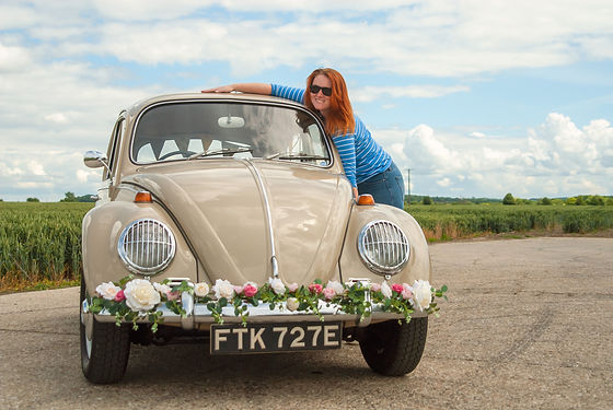 Vintage Wedding Beetle