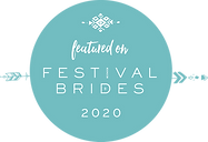 As featured on Festival Brides