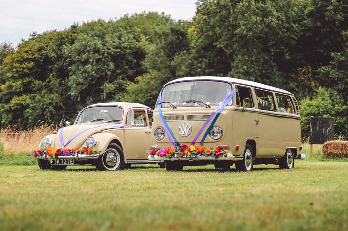 Festival wedding car