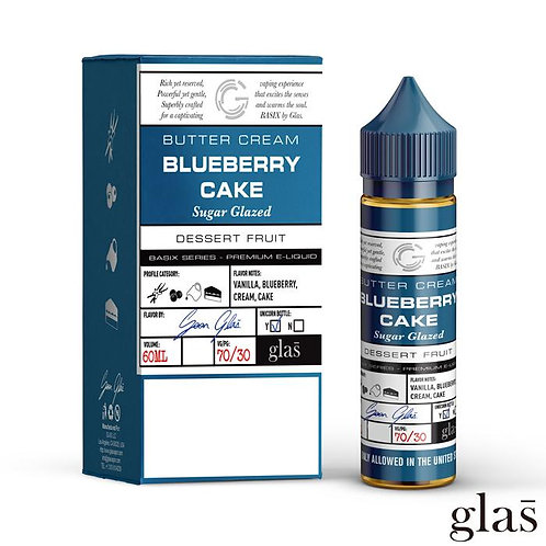 Basix by Glas E-Liquid - Blueberry Cake