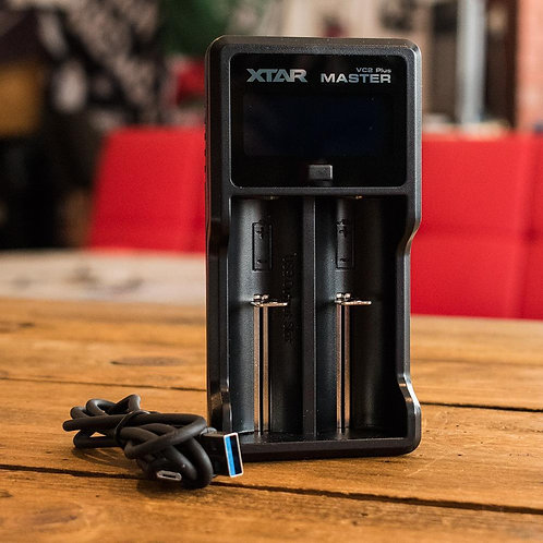 XTAR VC2 Plus USB Battery Charger