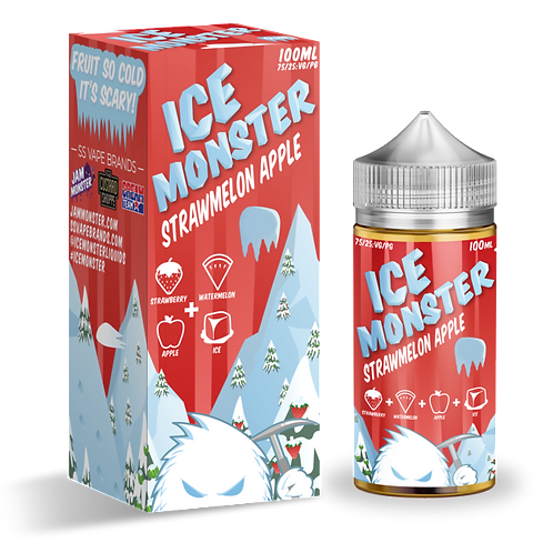 Ice Monster - Strawmelon Apple