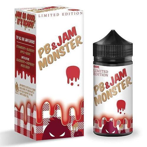 Jam Monster - PB + Strawberry Jam