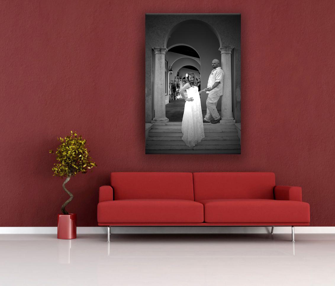 wall mockup wedding2