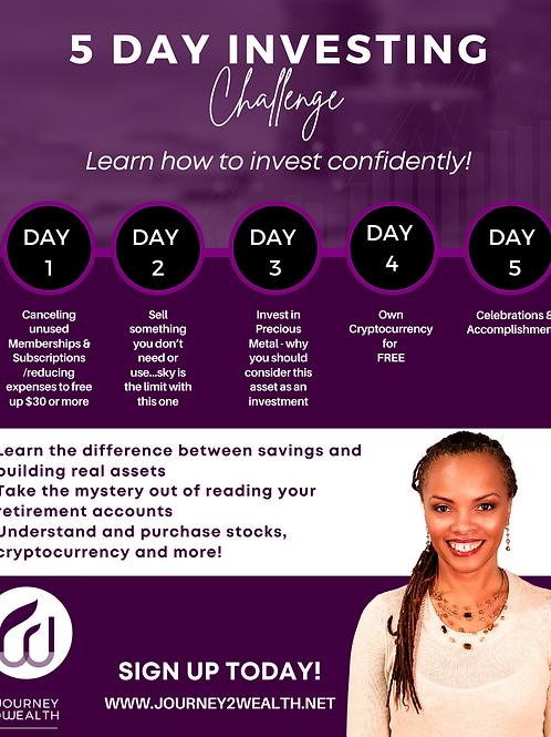 5 Day Investing Challenge