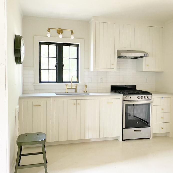 Lakeside Cottage Kitchen