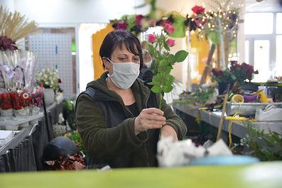 Mélanie Bezault maitre artisan fleuriste le chant des fleurs Franois