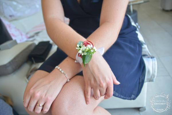 bracelet le chant des fleurs fleuriste f