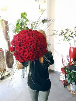 Camille Roussel, fleuriste le chant des fleurs Franois Besançon