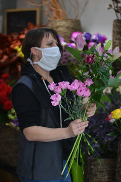 Mélanie Bezault Maitre Fleuriste le chant des fleurs Franois Besançon