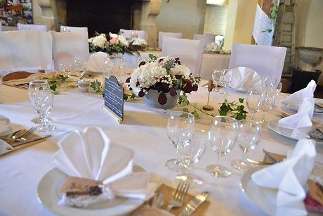 le centre de table de mariage par le chant des fleurs fleuriste a franois proche de besancon