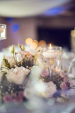 décor de salle mariage, fleuriste besançon le chant des fleurs à Franois