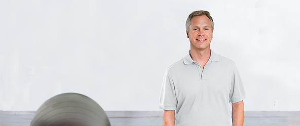 Man in Grey Shirt