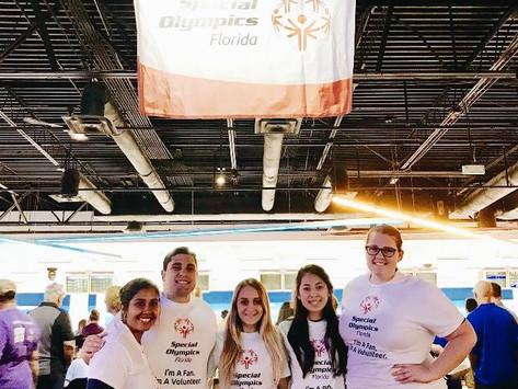 Volunteering at Special Olympics Florida