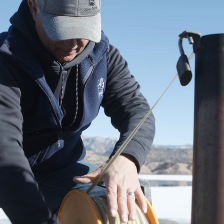 Ute Water pumps from Colorado River leading to pumping rates