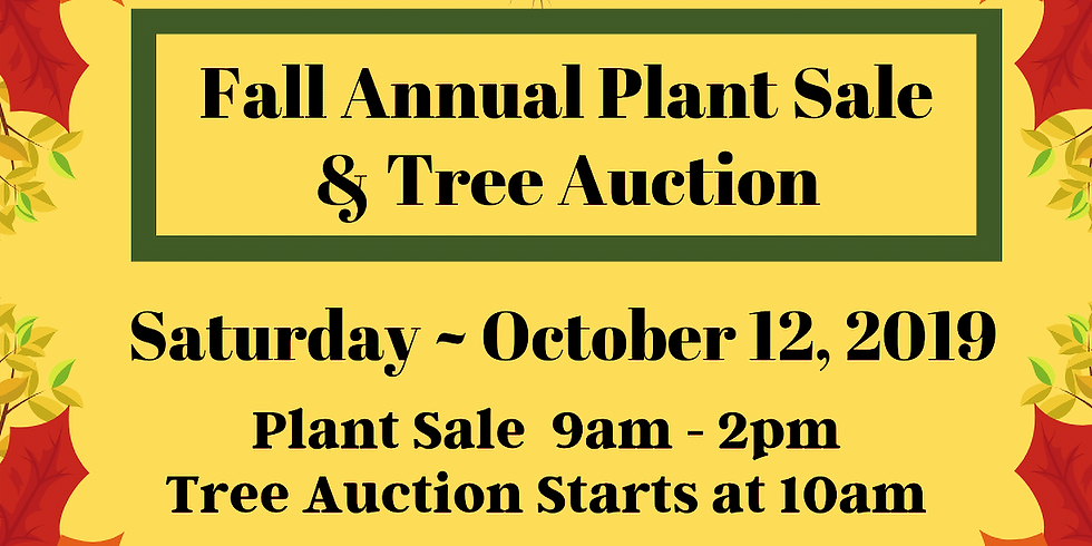 Fall Plant Sale & Tree Auction