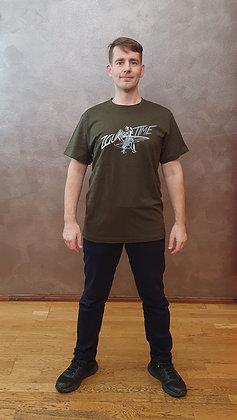 Tričko Zouktime - tmavě zelená