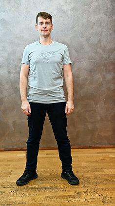 Tričko Zouktime - světle šedá