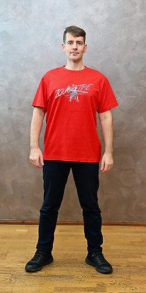 Tričko Zouktime - červená