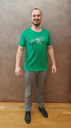 Tričko Zouktime - zelená