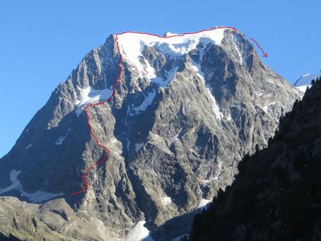 Face Nord du Mont Collon