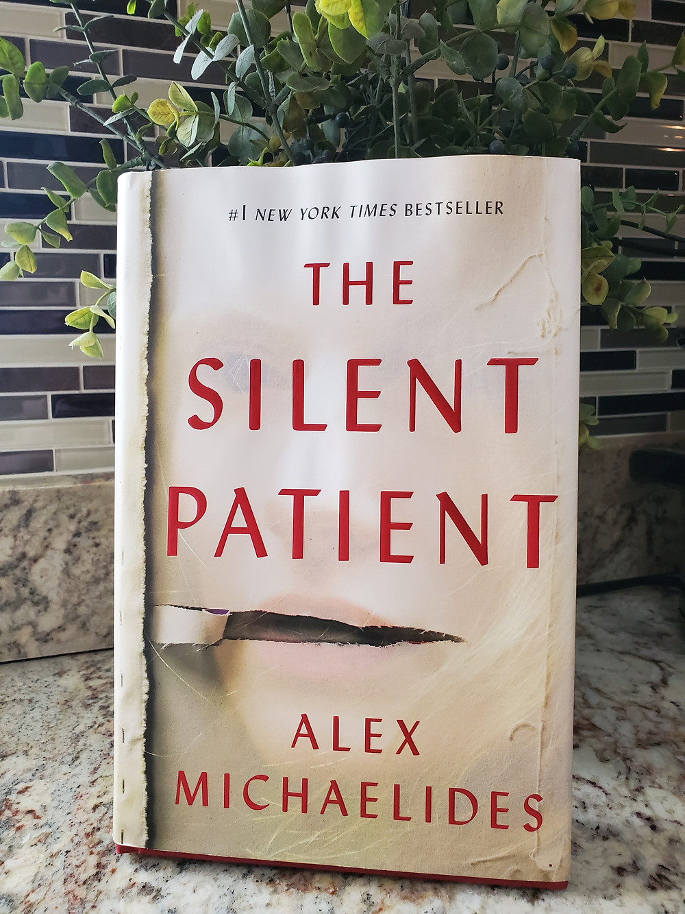 Image result for the silent patient book cover