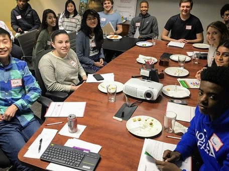 Howard County Youth in Philanthropy Honors PFS with Grant