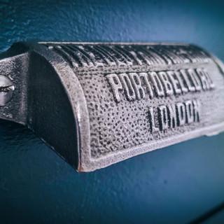 Vintage cast iron drawer handles