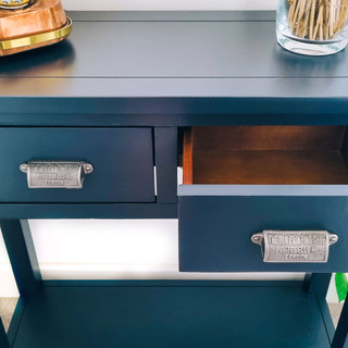 Upcycled Console Table F&B