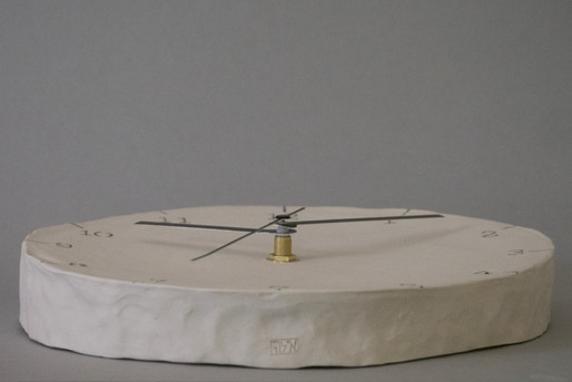 Pinched Silent Wall Clock
