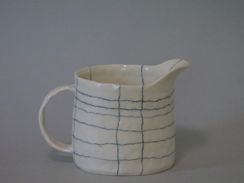 Grid Small Pitcher