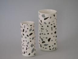 Porcelain Terrazzo Vase