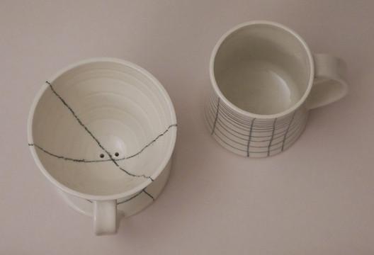 Pourover Coffee Dripper and Mug