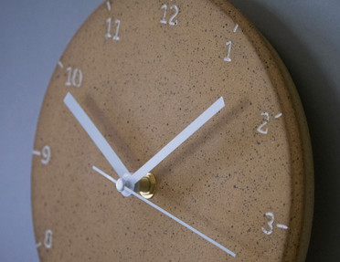 Silent Wall Clock- Speckled
