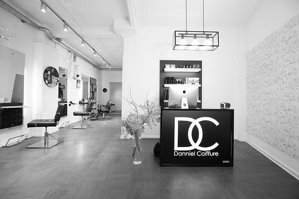 Danniel Coiffure salon velkommen