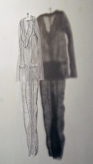 transparent suit