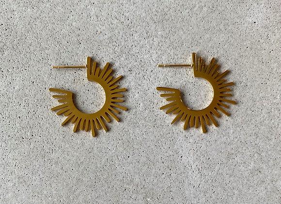 Sundial Earring