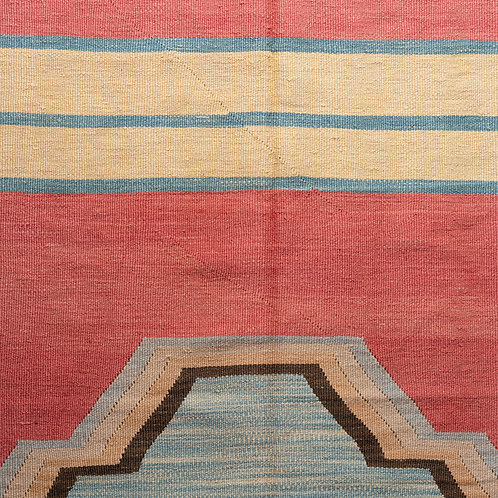 Newly hand woven Anatolian wool kilim