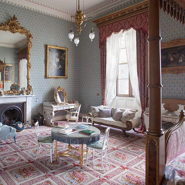 Raby Castle, Blue Bedroom