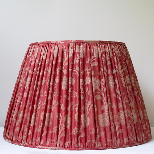 "20""/50cm base single metallic thread/silk lampshade"