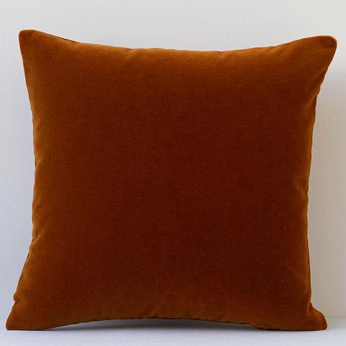 Square archive Pierre Frey mohair cushion