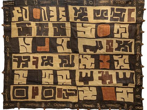 Wonderful large vintage Kuba cloth PRICE ON APPLICATION.