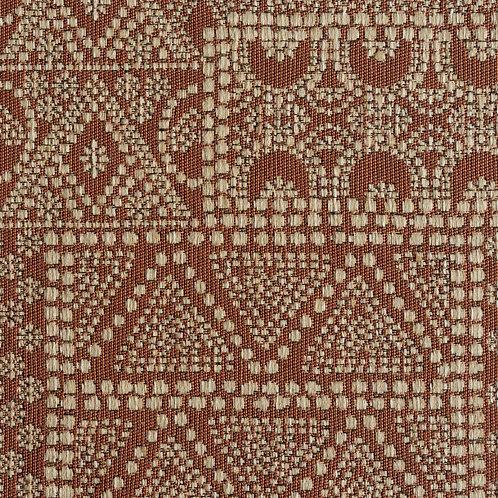 """""""BATIK"""" fabric in """"Coral"""" (price per metre)"""