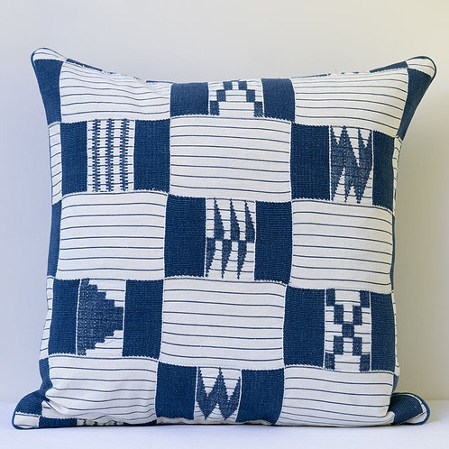 """19"""" square patchwork hand woven cloth/ antique back cushion"""