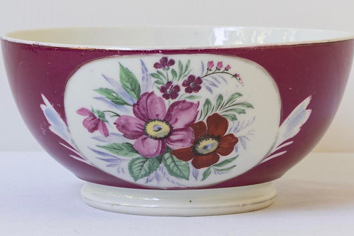 Early 20th century antique Russian Kuznetsov porcelain bowl
