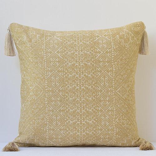 "20""/50cm Guy Goodfellow Fez Weave/ Ralph Lauren wild silk cushion"