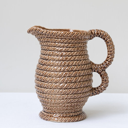 Unusual double handled jug