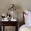 Thumbnail: Hand stitched light beige cotton single quilt