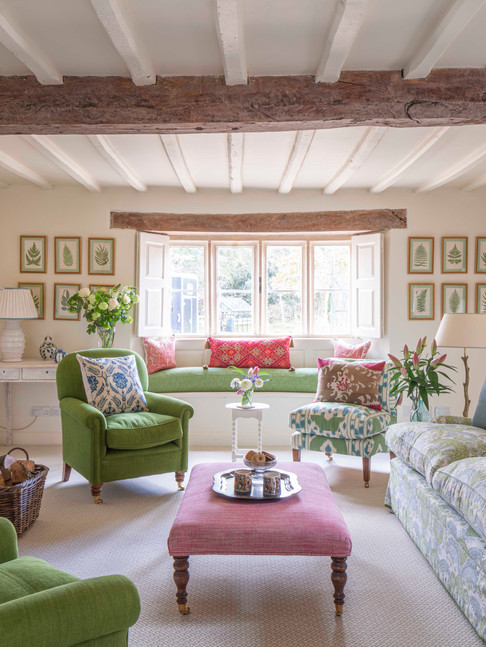 English country house drawing room