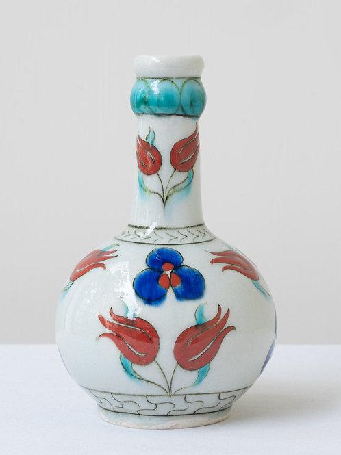 (14) Decorative Iznik inspired ceramic vase